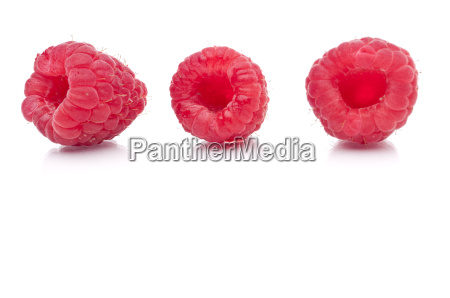 a horizontal image of three fresh