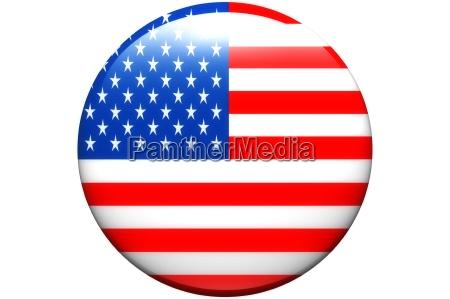 yellow button flag america banner