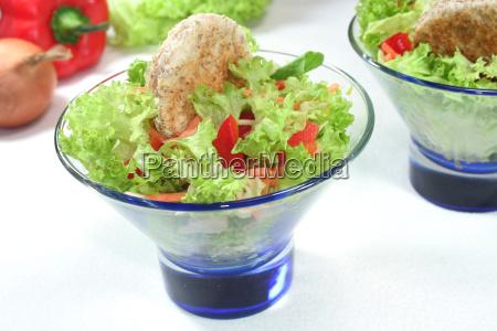 vegetarian roughage toast dewier salad healthy