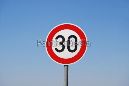 max 30 kmh
