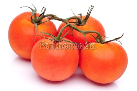 horizontal image of 4 fresh ripe