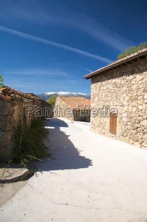 collado village street