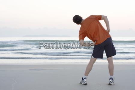 beach seaside the beach seashore sportsman