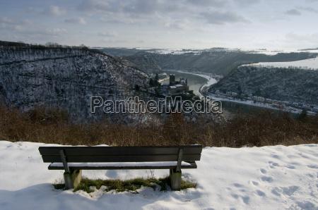 katz castle in winter