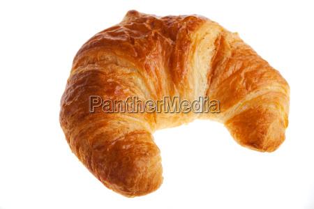 croissant isoliert auf weiss
