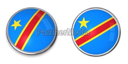 banner button democratic republic of the