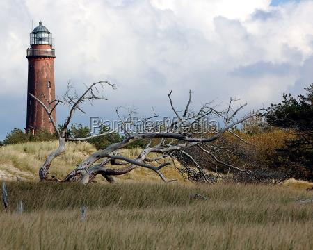 darsser ort lighthouse