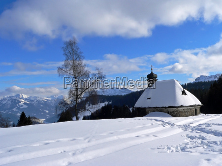 chapel in the bregenzerwald