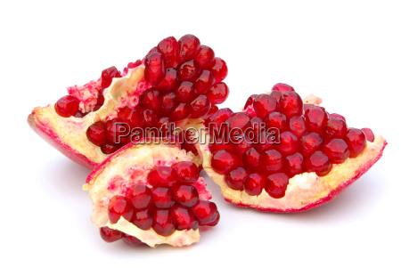 exempted pomegranate pomegranate isolated 07