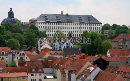 gothas old town and friedenstein castle