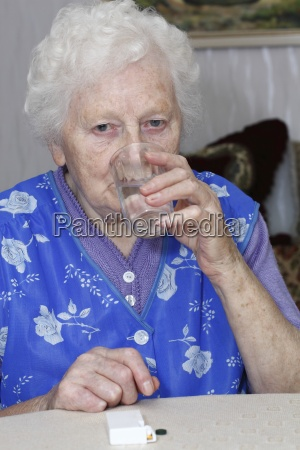 granny takes tablets 3