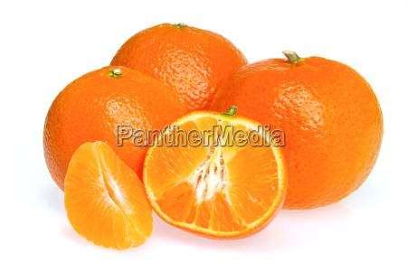 mandarine freigestellt tangerine isolated 05