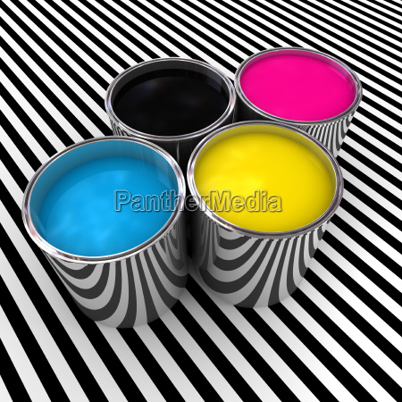 cmyk color paint background