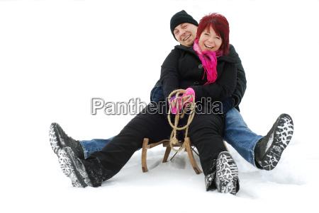 sledge ride