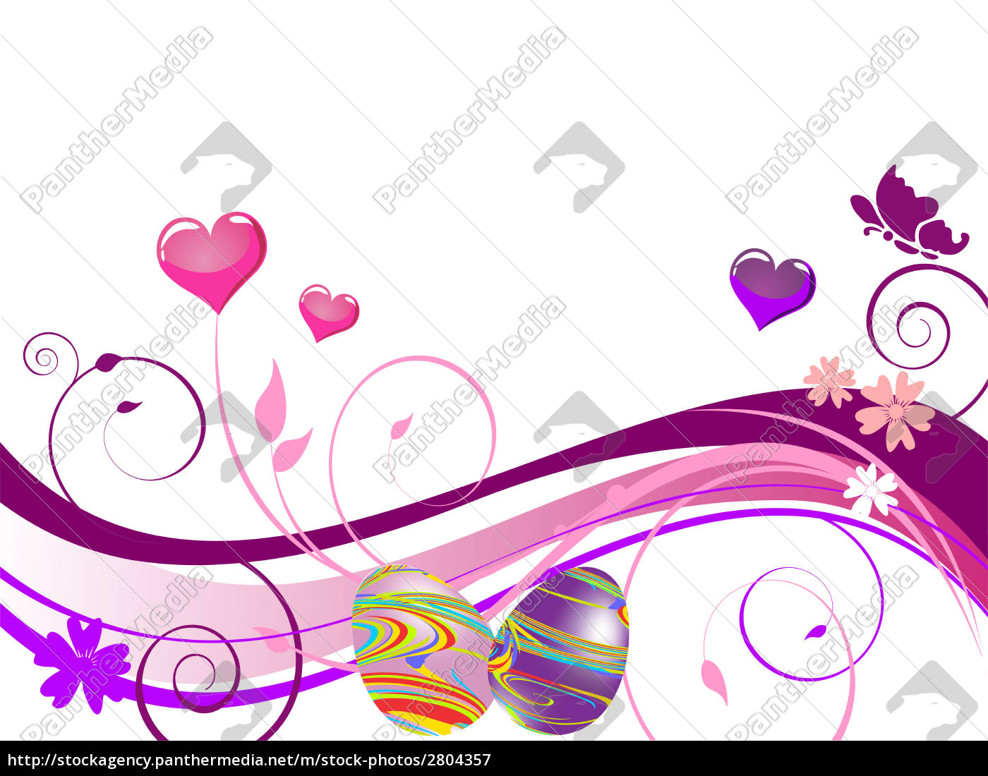 colorful, easter, design - 2804357
