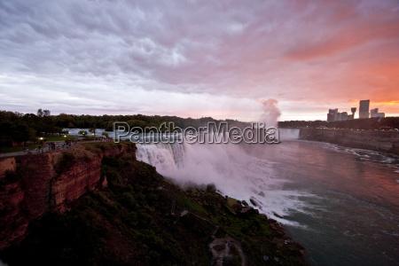 niagara, falls, sunset, - 2806829