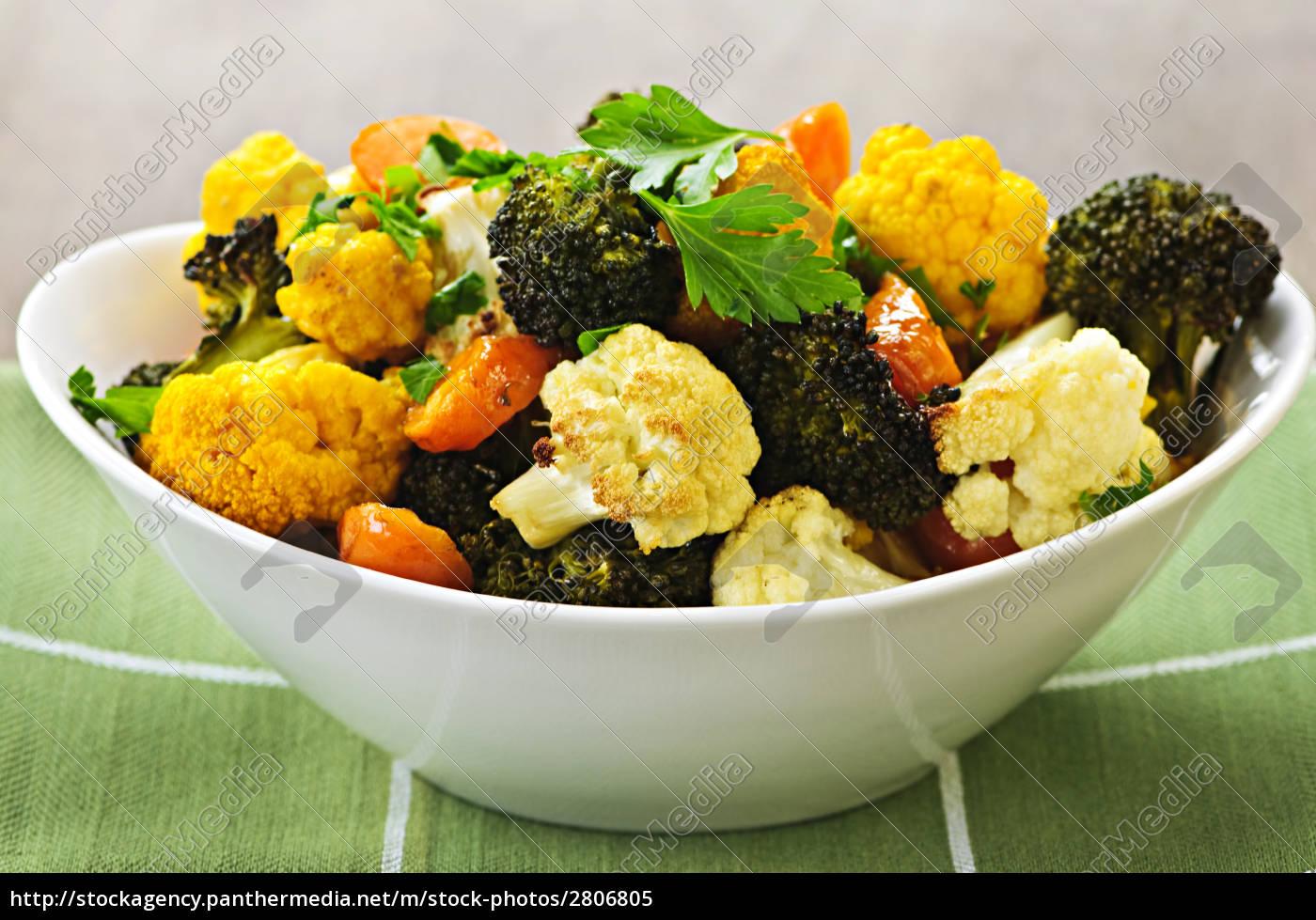 roasted, vegetables - 2806805