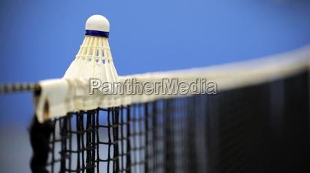 badminton, ball, on, net, edge - 2809597