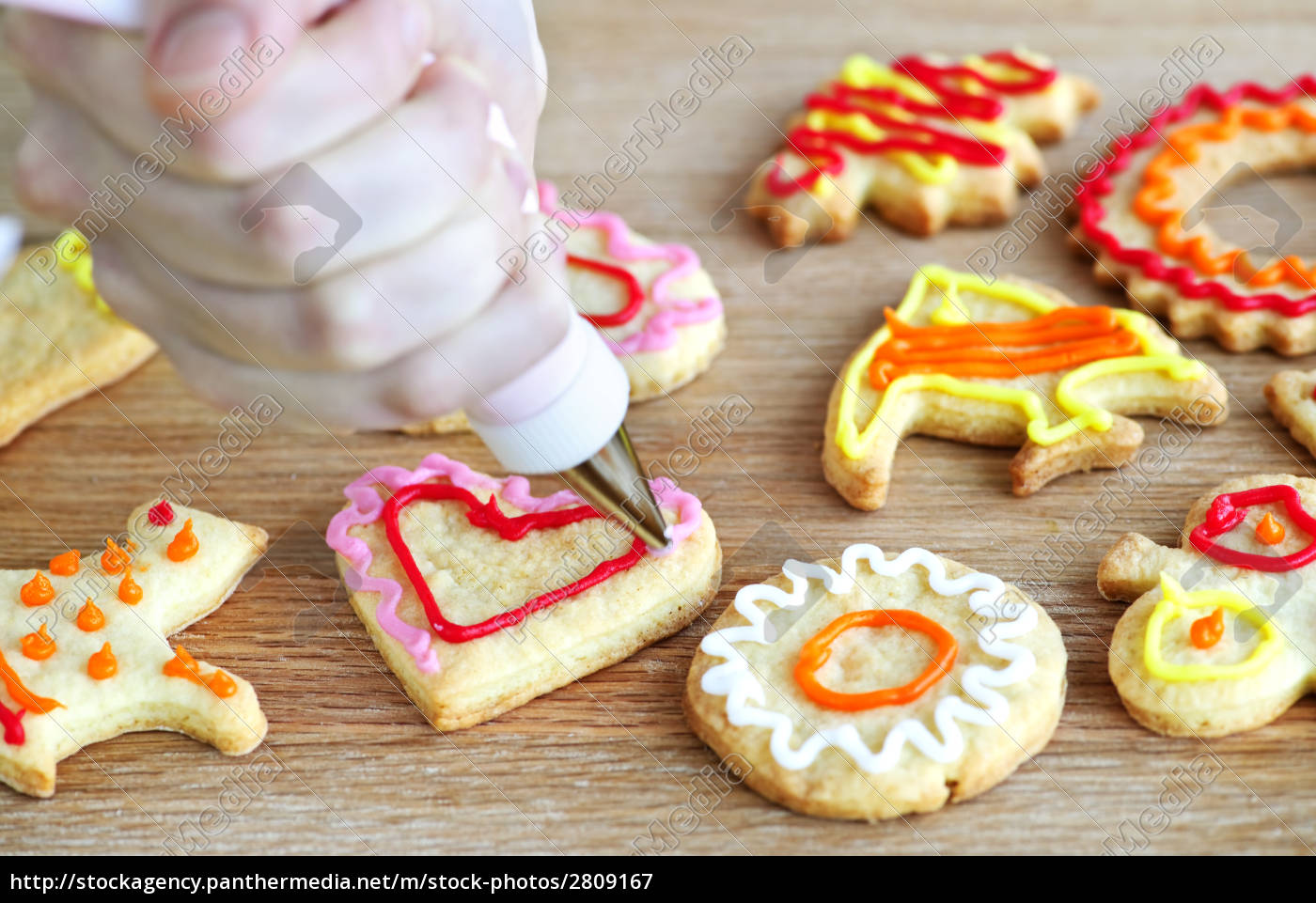 decorating, cookies - 2809167