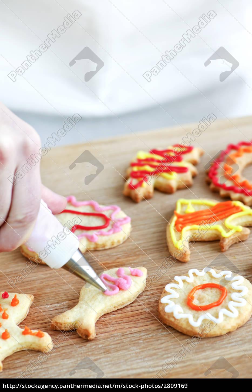 decorating, cookies - 2809169