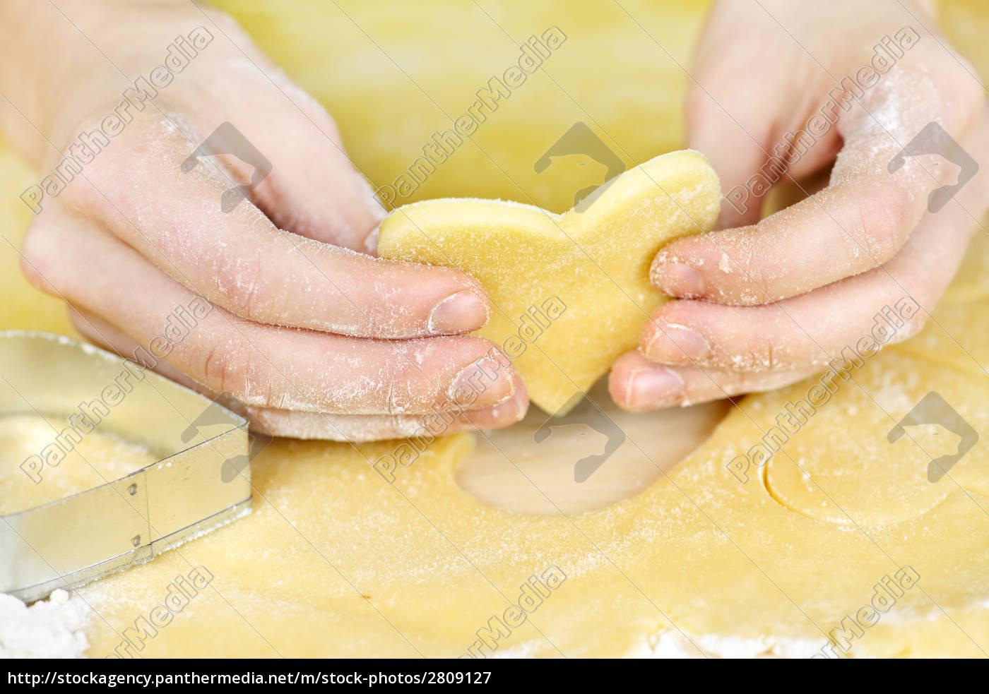 making, shortbread, cookies - 2809127
