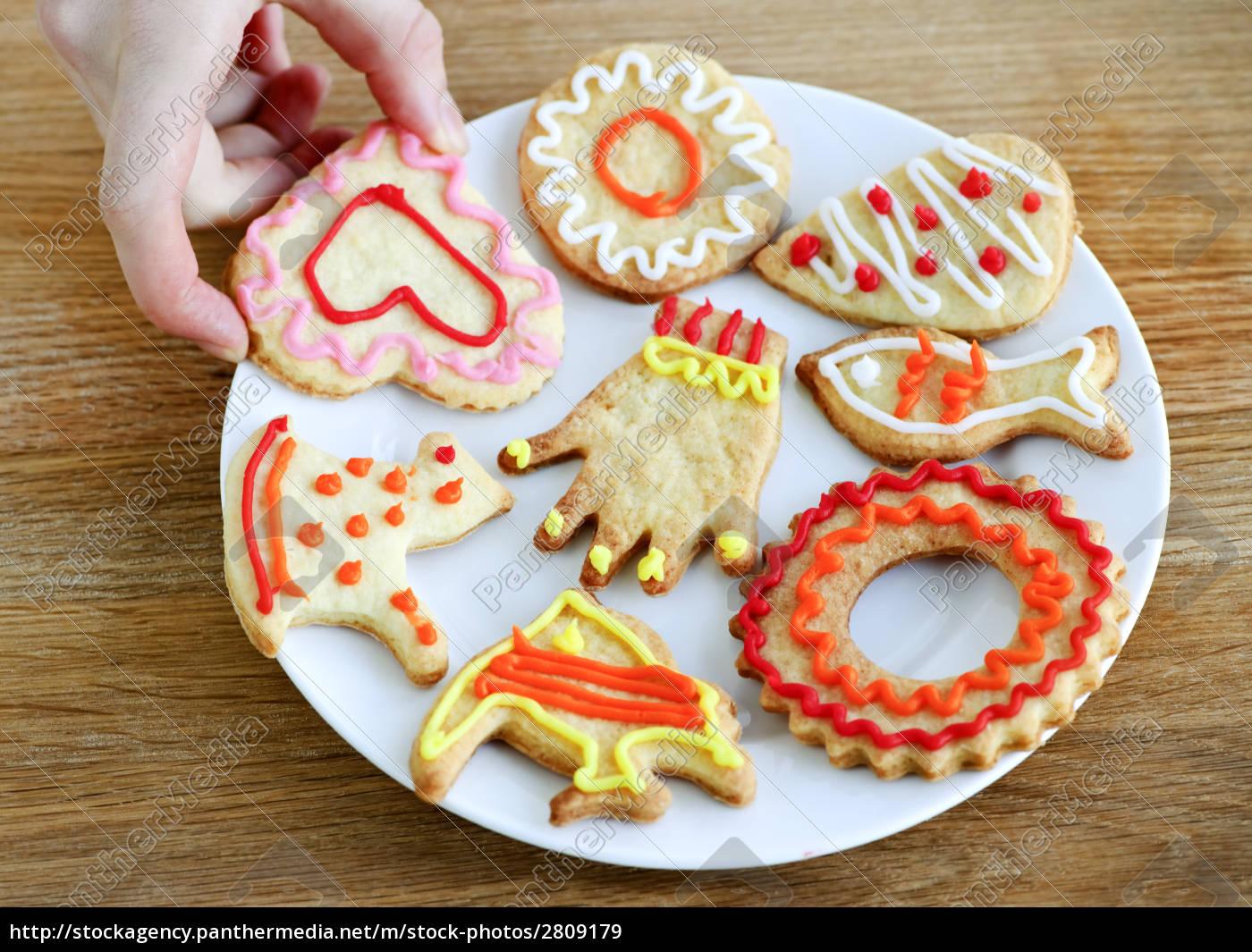 plate, of, homemade, cookies - 2809179