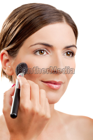 applying, make-up - 2810667