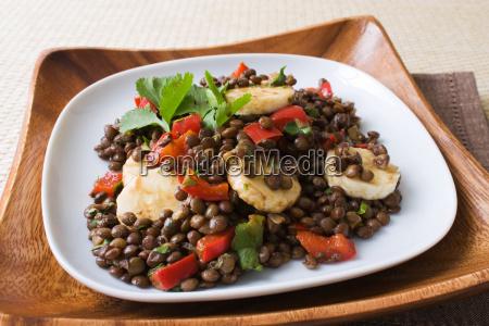 bananas, lentils, salad - 2810851