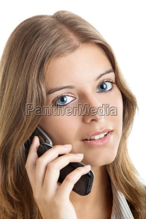 business, woman, using, a, cell, phone - 2810297