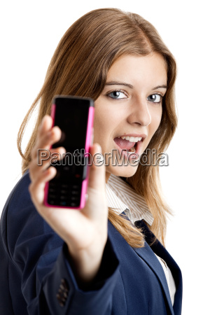business, woman, using, a, cell, phone - 2810311