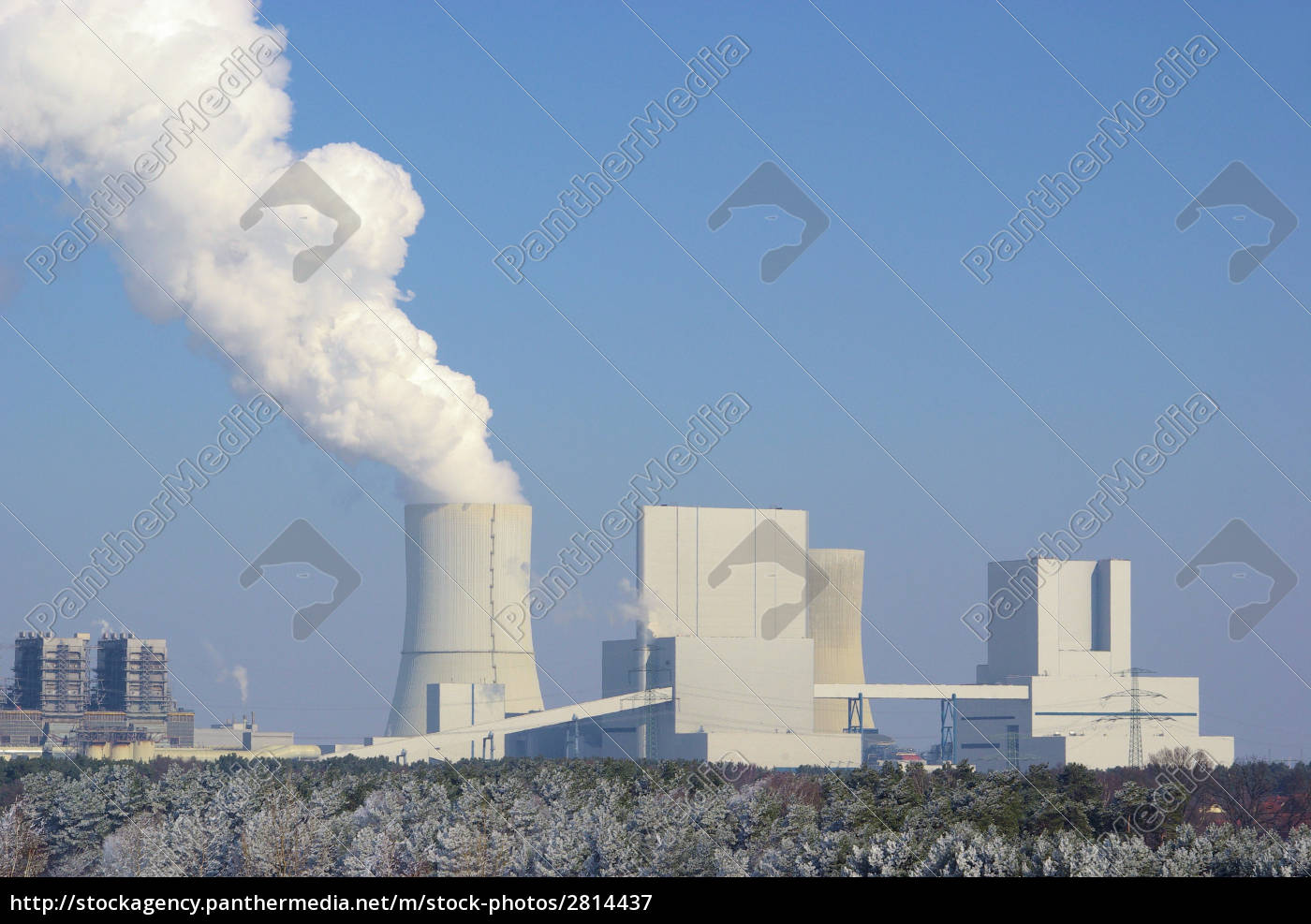 boxberg, kraftwerk, im, winter, -, power - 2814437