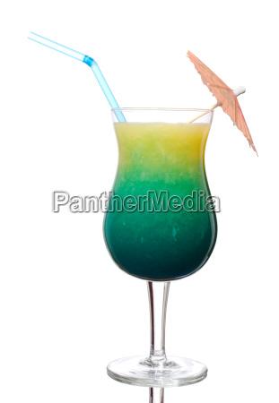 blue curacao with orange juice