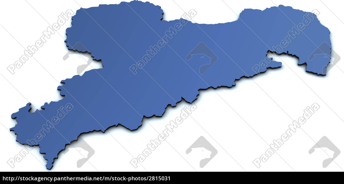 map, of, saxony - 2815031