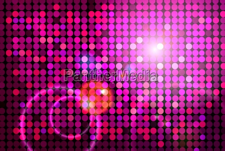 pink disco background