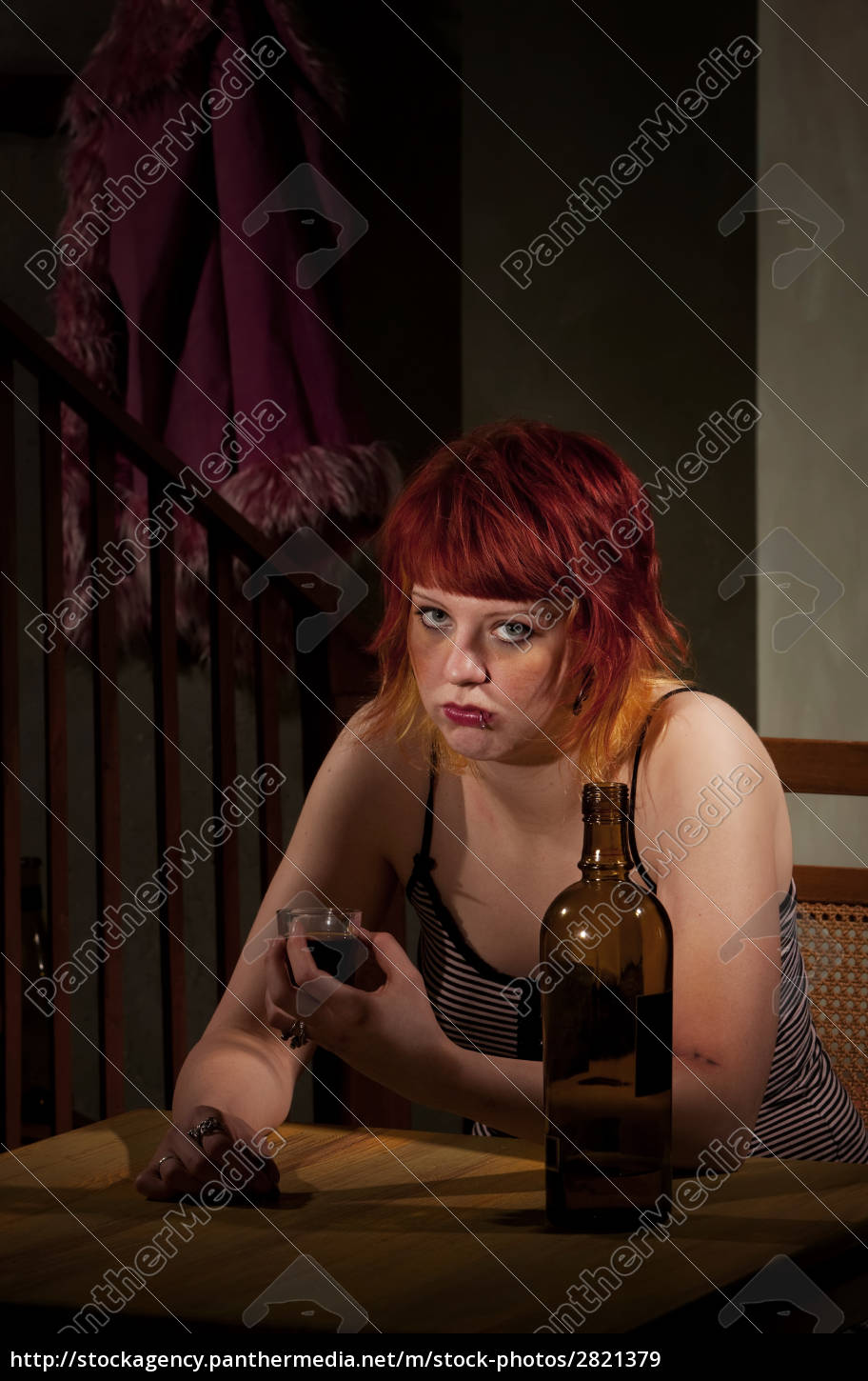 underage, alcoholic, woman, with, bottle, of - 2821379