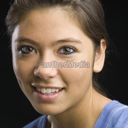 teenage, girl, smiling - 2822379