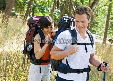 woman, opening, boyfriends, backpack - 2823113