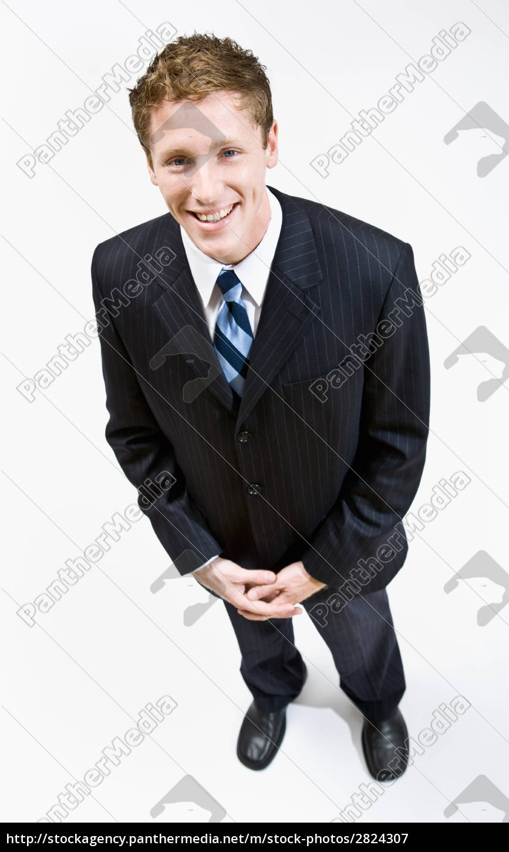 businessman, smiling - 2824307