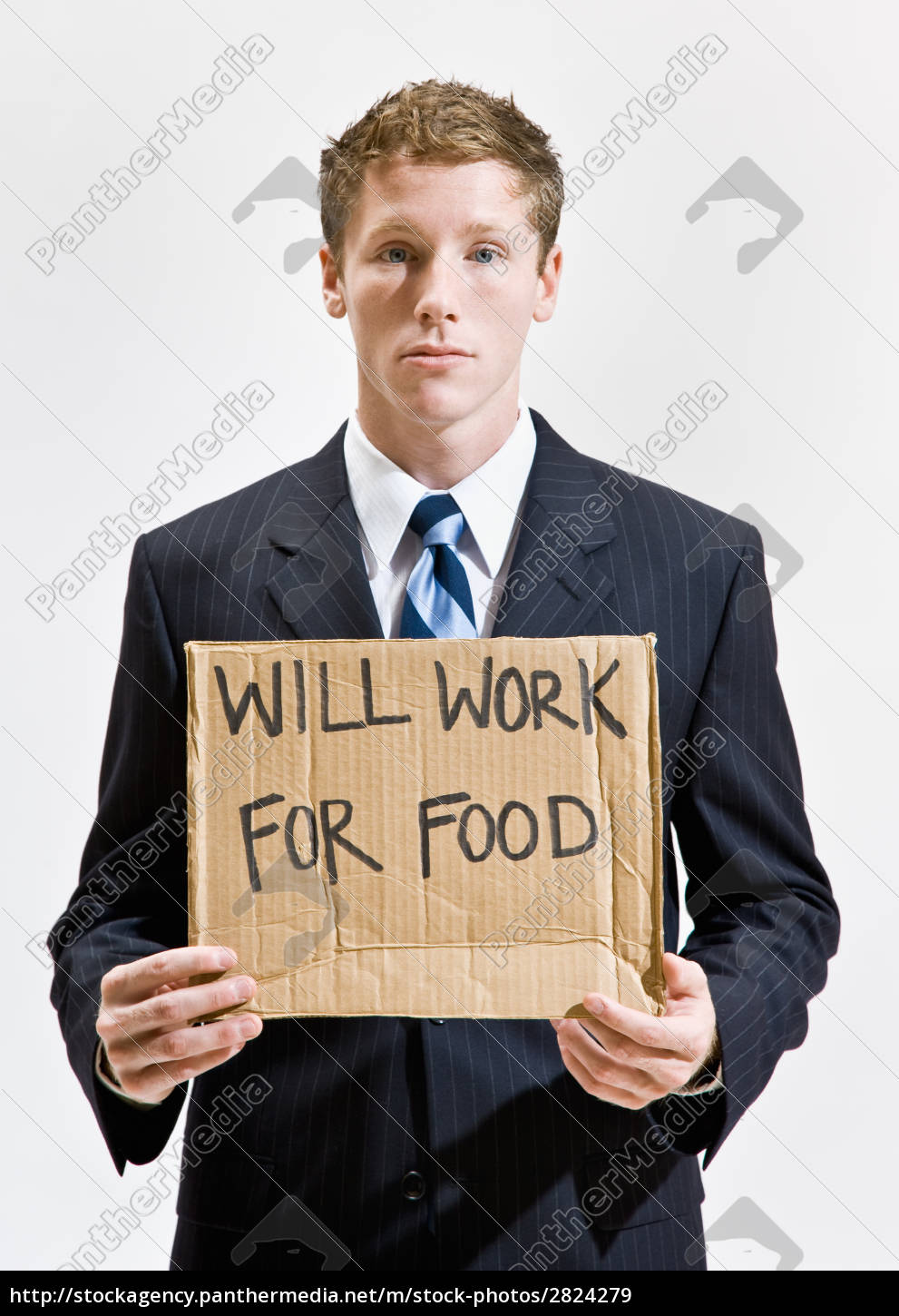businessman, with, sign, ill, work, for - 2824279
