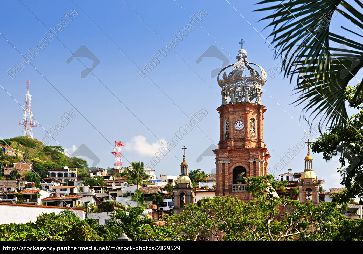 church, in, puerto, vallarta, , jalisco, , mexico - 2829529