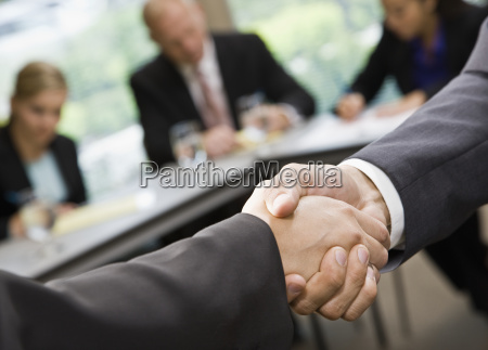 business, people, shaking, hands - 2833517