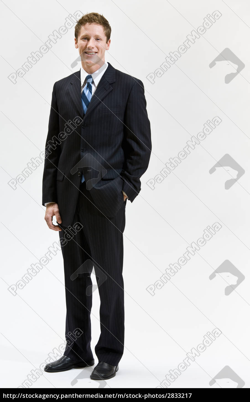 businessman, smiling - 2833217