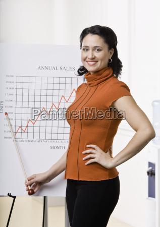 businesswoman, giving, presentation - 2834269