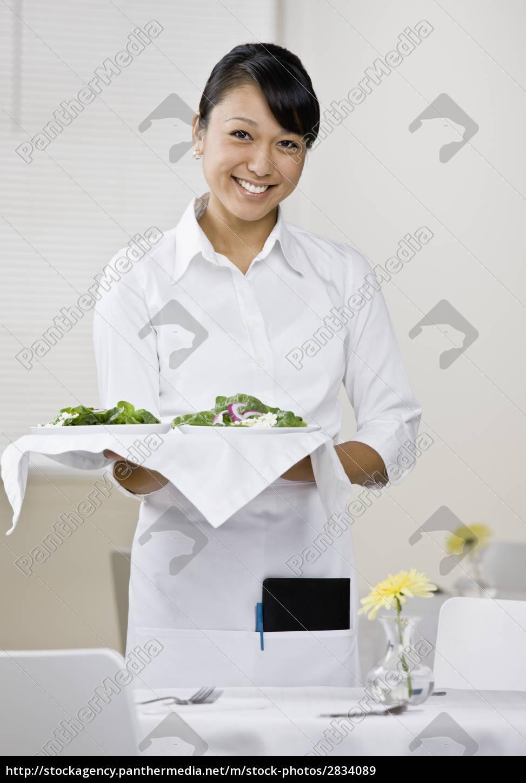 woman, restaurant, humans, human beings, people, folk - 2834089