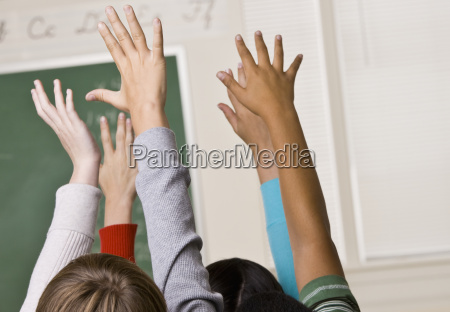 students, answering, teacher, question - 2835519