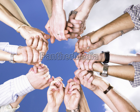 clasped, hands, in, a, circle - 2838581
