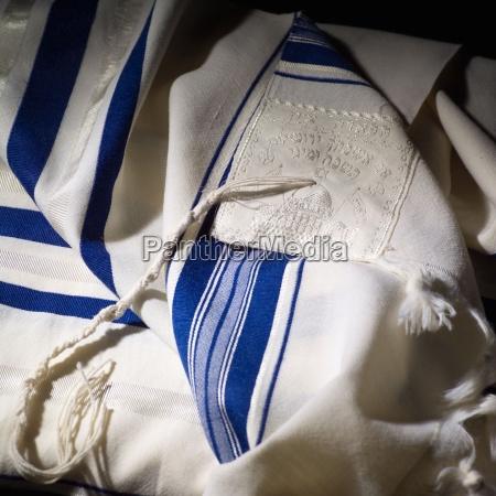 judaica symbols prayer shawl