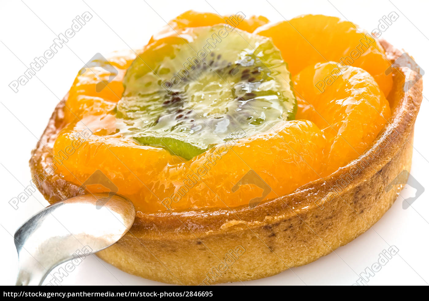 fruit, cake, with, a, spoon - 2846695