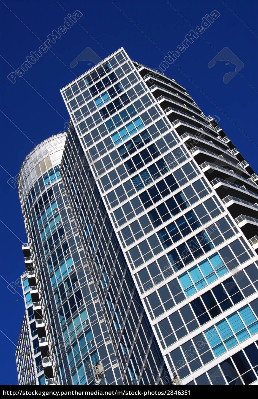 modern, condominium, building - 2846351