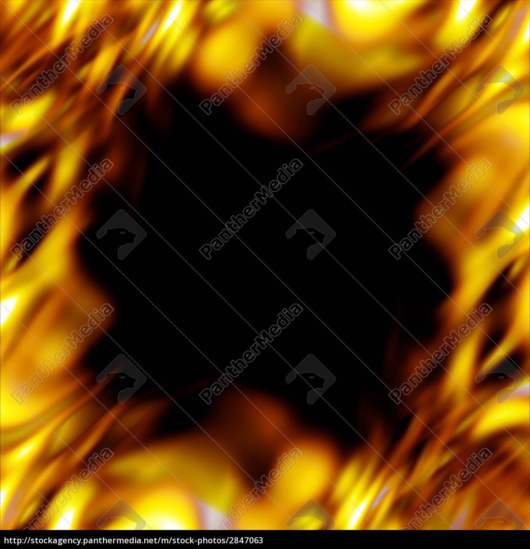 fiery, border - 2847063